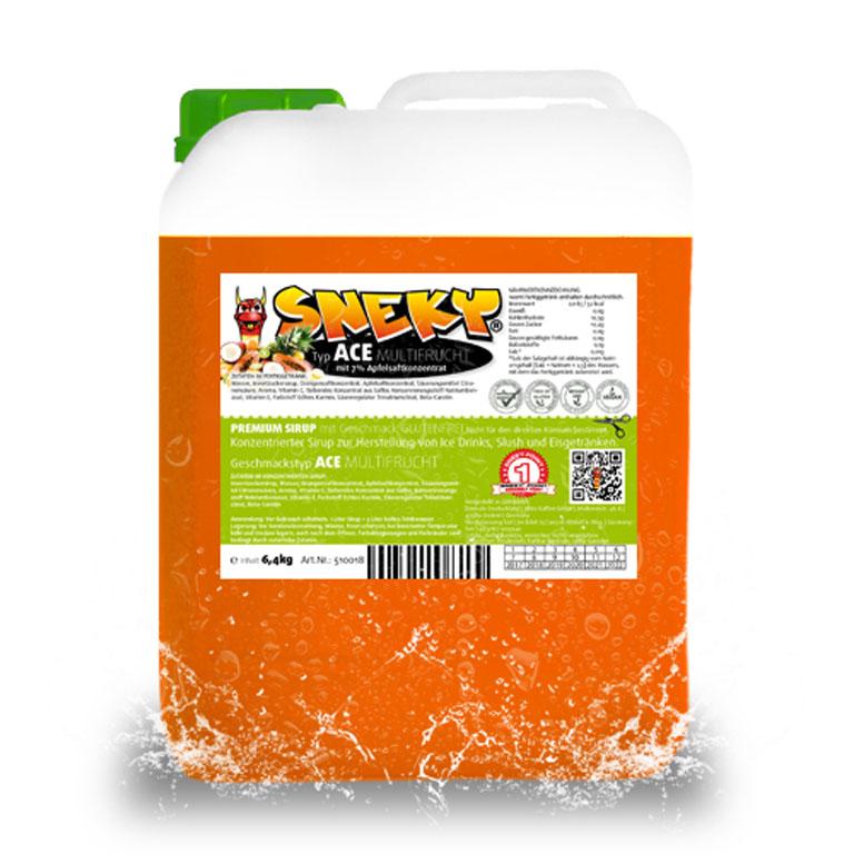 Kanister Azofrei-Sneky-ACE-Multifrucht